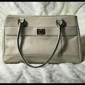 Cream Giani Bernini Handbag